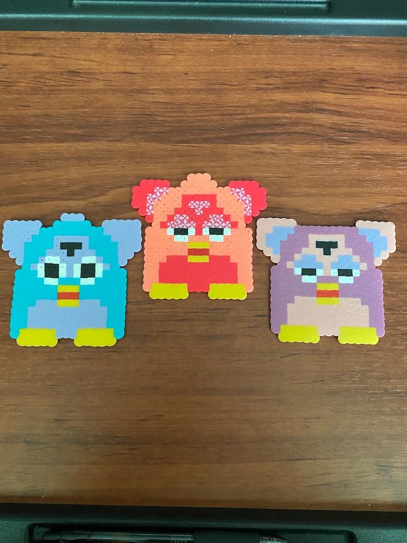 Furby Drink CoastersMagnetsWall artOrnaments