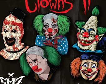 Poltergeist Clown Etsy