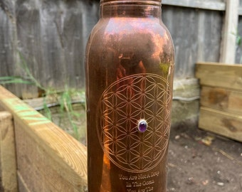 600mL * Assorted Unlacquered Pure Copper Water Bottle - Anti-Bacterial - Anti-Covid-19 - End of Line