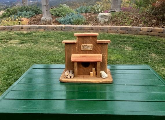BirdHouse Rustic Birdhouse Handmade Birdhouse Garden | Etsy