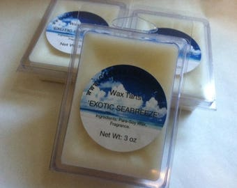 Exotic Seabreeze Wax Tarts 3oz