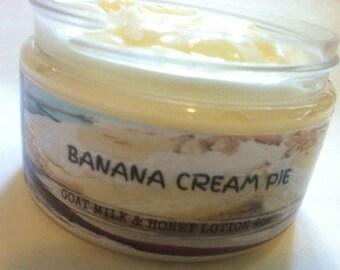 Banana Cream Pie Goat Milk & Honey Lotion