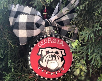d2b082791a6 Georgia bulldogs ornament