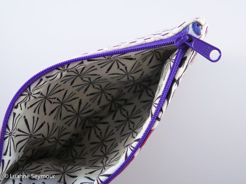 Kindle sleeve pencil pouch embroidered bag hand quilted bag boho bag linen project bag patchwork Hand stitched linen zipper pouch