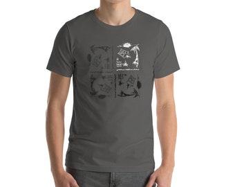 ITT Grunge Campout Tiled T-Shirt