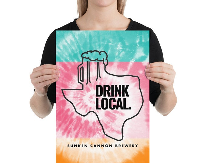SCB Drink Local Poster