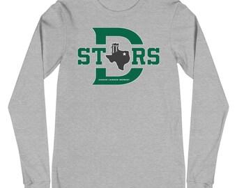 """SCB """"Big D"""" TexaStars Stein Long Sleeve Tee"""
