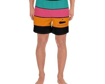 SCB Fat Fiesta Striped Action Shorts (Black)