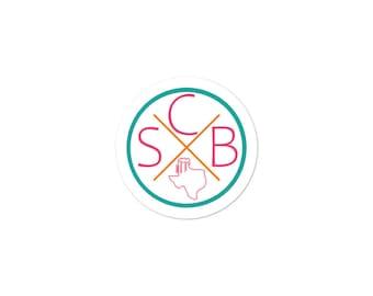 SCB Fiesta Circle X Sticker