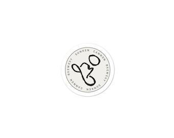 SCB (830) Hat Sticker (Small)