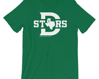 "SCB ""Big D"" TexaStars Stein Whiteout T-Shirt"