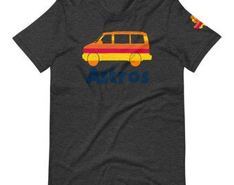 Astros Van Tequila Sunrise T-Shirt