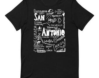 San Antonio Breakfast Taco WH T-Shirt