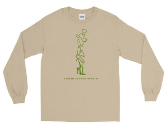 SCB Hill Country Cowboy (green) Long Sleeve T-Shirt