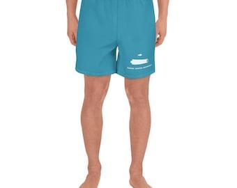SCB White/Blue Action Shorts