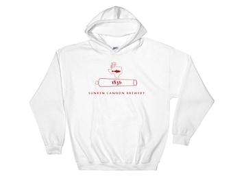 SCB 1836 Hooded Sweatshirt (red)