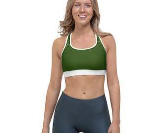 Forest Green SCB Sports bra