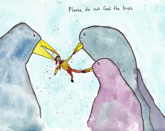 dont feed the birds
