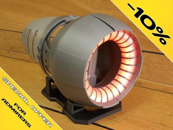Stand LED lighting Star Trek 3d printed Romulan Disruptor Bundle ...