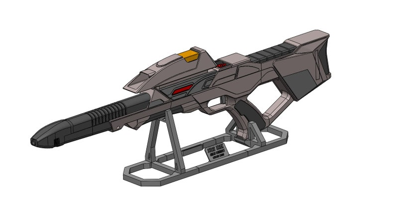 - Cosplay STAND ONLY Stand for First Contact Rifles 3d printed