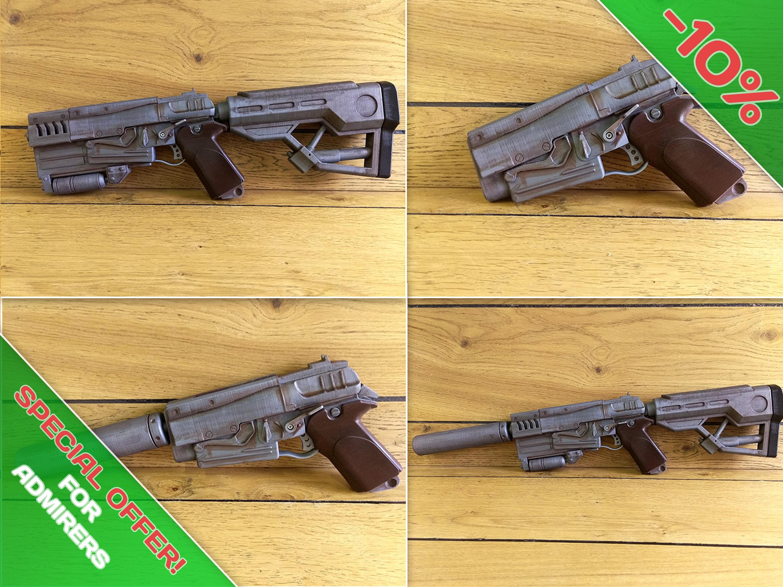 Fallout 4 10000 dmg pistol 9mm