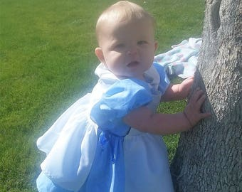 Alice Inspired Pinafore Toddler Dress