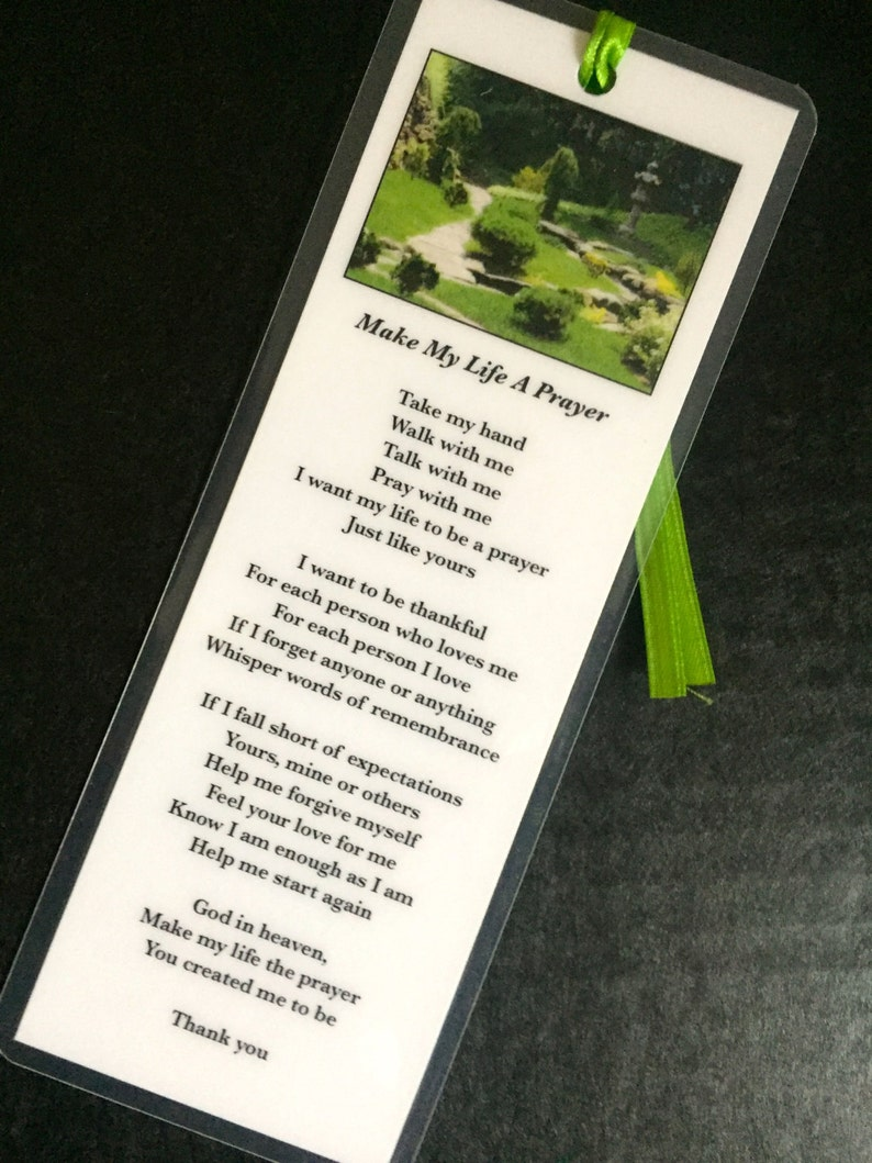 Make My Life A Prayer Bookmark
