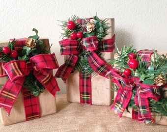 rustic christmas presents rustic christmas packages farmhouse christmas decor primitive christmas presents fixer upper presents - Rustic Christmas Decor