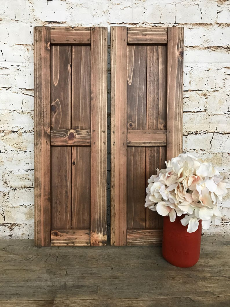 Farmhouse Framed Cedar Board & Batten Shutters, Rustic Style, Fixer Upper  Decor, Cottage Style, Cottage Chic, Farmhouse Style