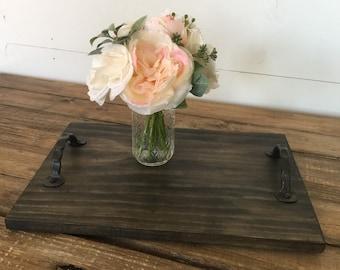 Wood Tray + Handle