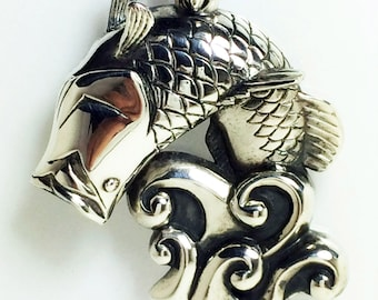 Barramundi Pendant Silver 925