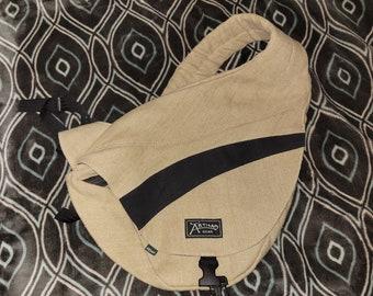 Hemp Canvas Cross Body Bag