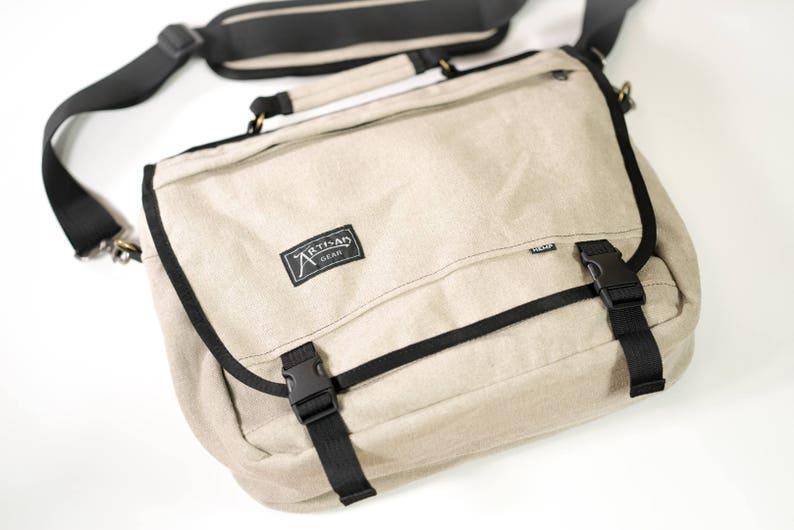 The Courier  Hemp Messenger Bag image 0