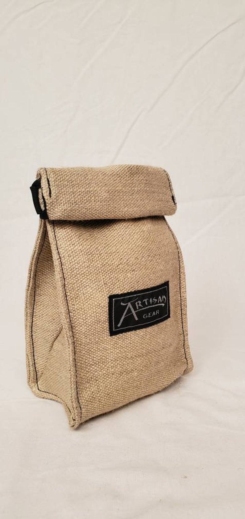 Hemp Canvas Reusable Coffee Bag image 0
