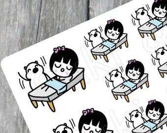 MASSAGE stickers, Massage Planner Stickers, Spa Planner Stickers, Kawaii Stickers, Erin Condren Stickers, CUTE planner stickers (S010)