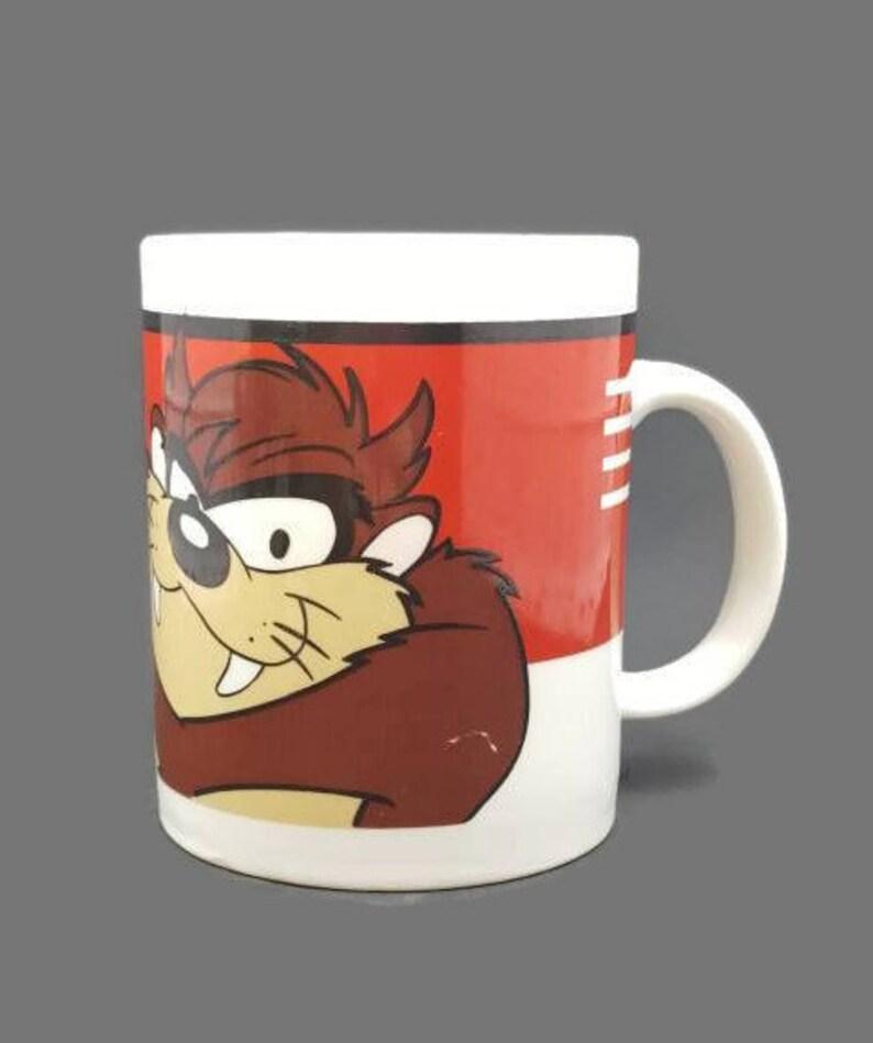 Diavolo della tasmania mug taz looney tunes warner brothers etsy