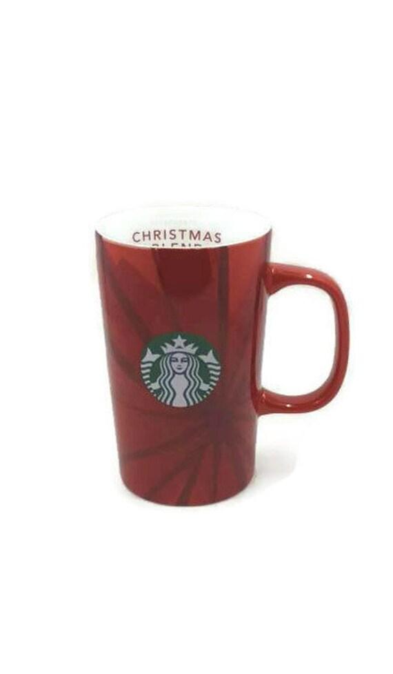 Starbucks Christmas Coffee.Starbucks Christmas Blend Spicey And Sweet For Thirty Years Starbucks Mugs Christmas Mugs Latte Cup Red Starbucks Vintage Starbucks 2014