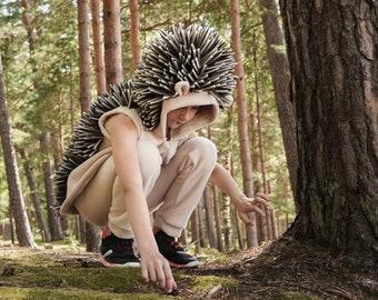 Hedgehog Costume for Kids - Kids Costume - Animal Costume - Handmade Costume - Halloween costume