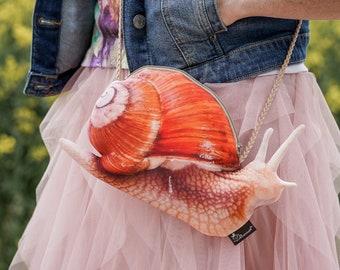 Snail Bag - Snail Dress Up - Handmade Costume