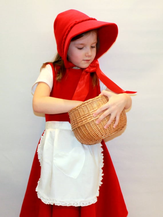 Little Red Riding Hood Costume Girl Costume Kids Costume Red Etsy