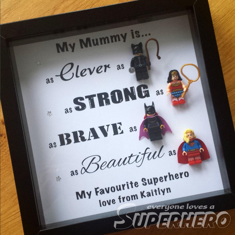 Superhelden-Rahmen Mama Mama Kindermädchen etc.   Etsy