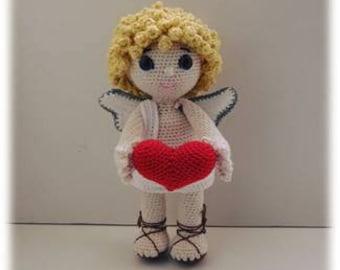PDF tutorial crochet Cupid