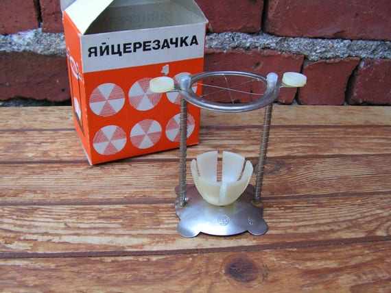 Retro Tabak Keukens : Vintage ei cutter ei slicer ei cutter tool keuken gereedschap etsy