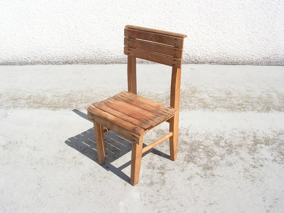 Outstanding Antique Small Wooden Chair Old Four Legged Chair Primitive Rustic Stool Handmade Wood Chair Childrens Chair Solid Rustic Wood Stool Ibusinesslaw Wood Chair Design Ideas Ibusinesslaworg