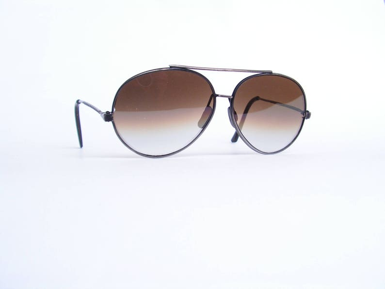 e3a6f82f63 Retro aviator sunglasses Pilot mirror glasses Men brown