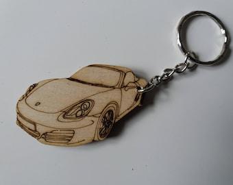 Porsche Keychain Etsy