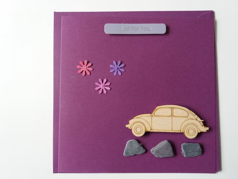 Handmade Birthday Card Beetle 1 Card
