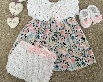 Cotton summer dress set