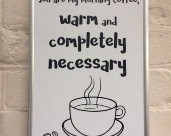 Morning Coffee Print