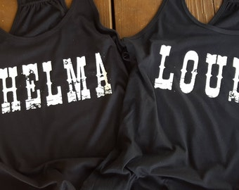 Thelma & Louise tank tops